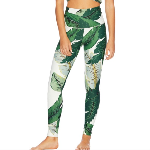 95e89da08eb1 Beach Riot Pants - Beach Riot Lauren legging in Palm NWOT